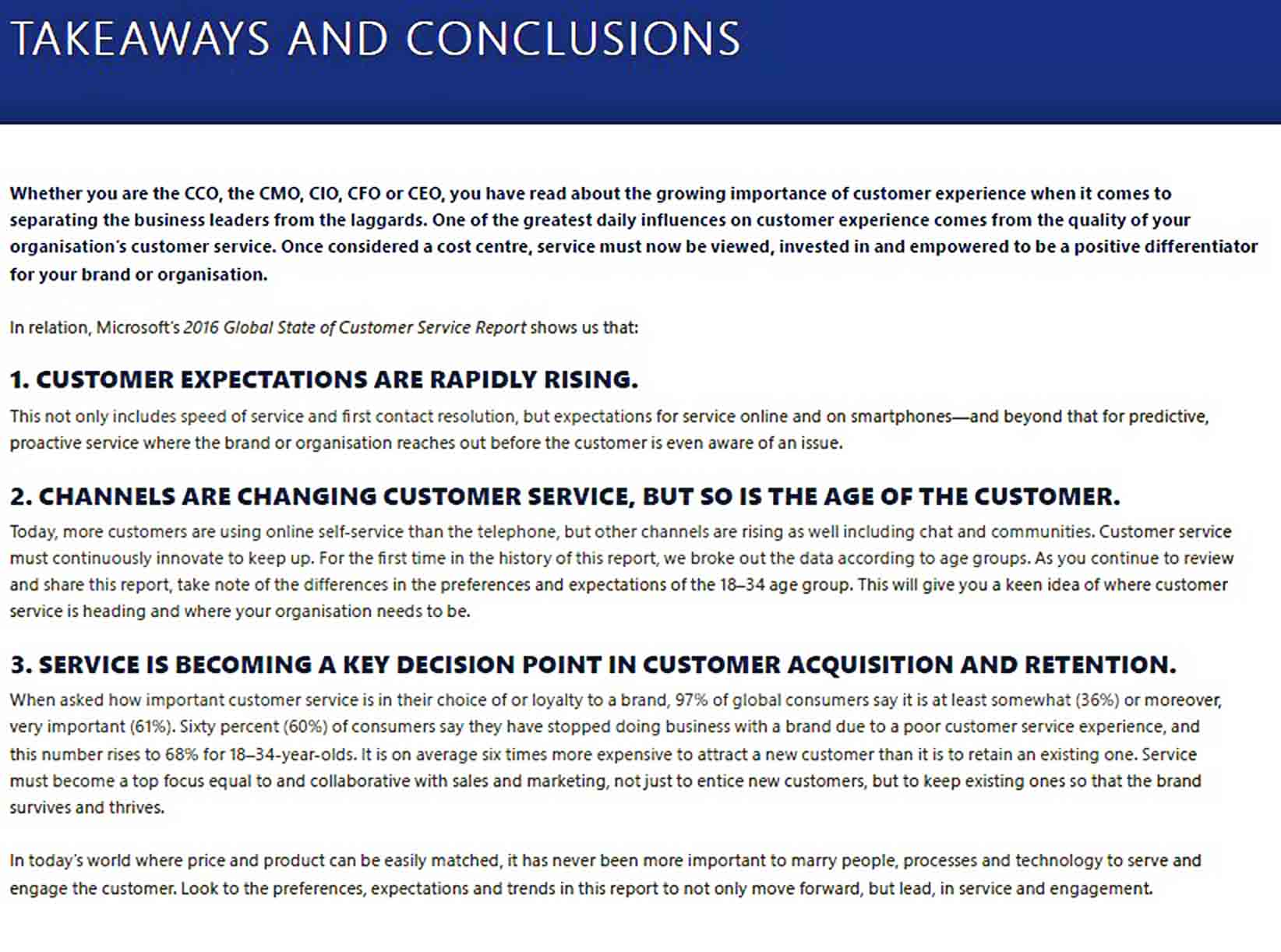 Templates Customer Service Report