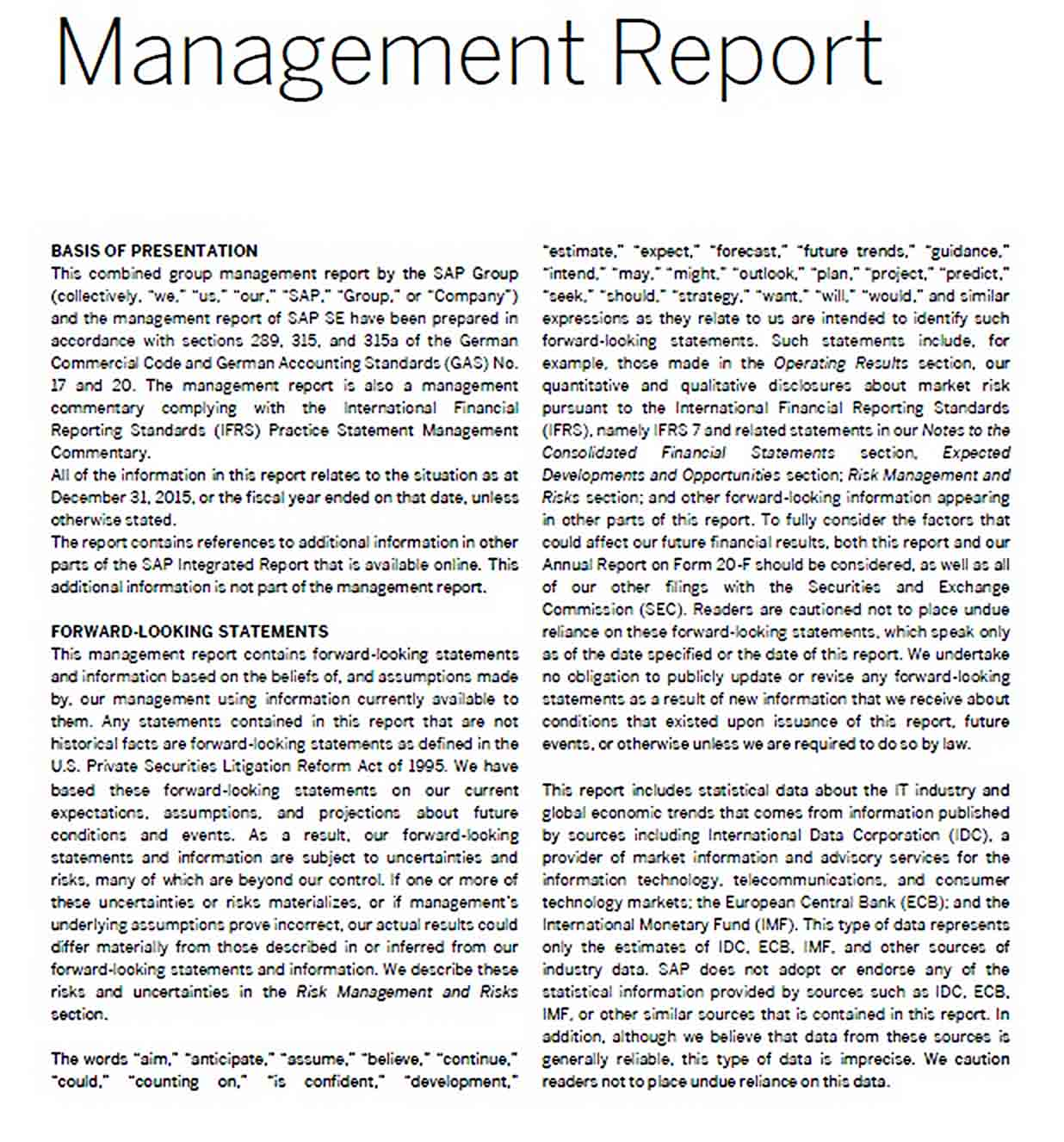 Templates Management Report