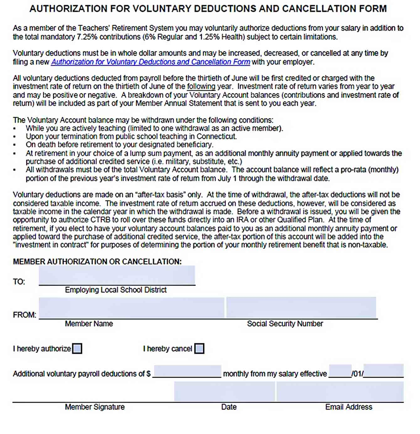 Payroll Budger Deduction Agreement PDF sample