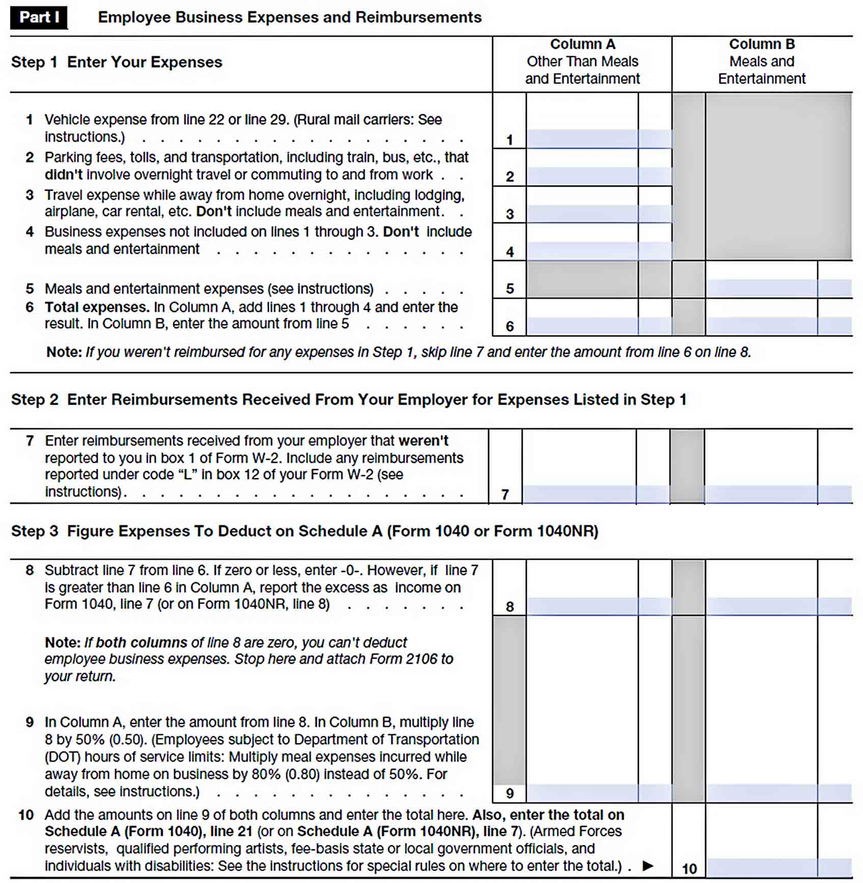 Templates Annual Business Expense Report