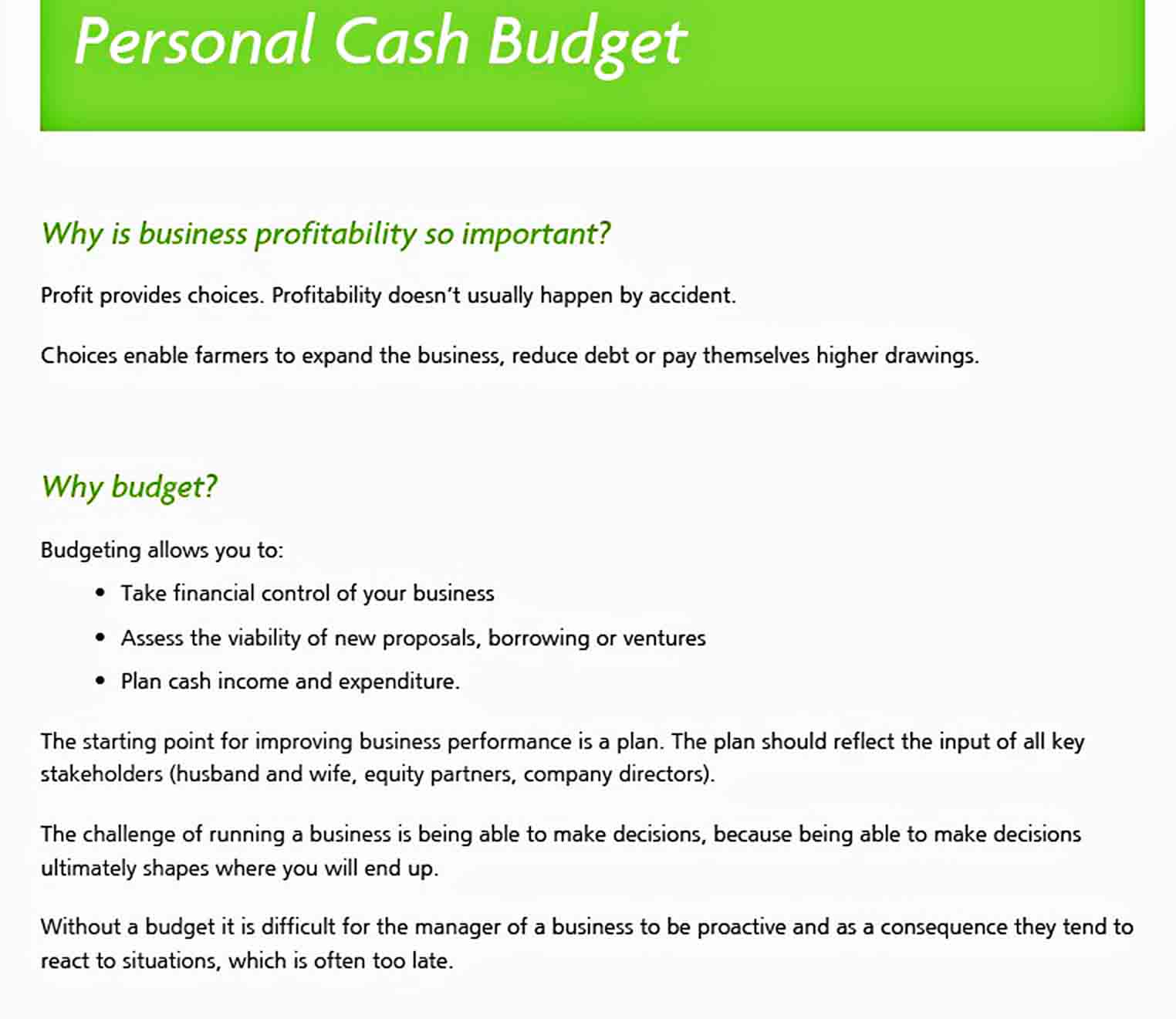 Templates Personal Expense Report Example
