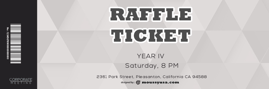 raffle ticket in photoshop free download